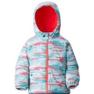Columbia Outgrown Girl's Toddler Hooded Jacket 3T